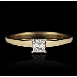 14KT Yellow Gold 0.25ct Diamond Ring