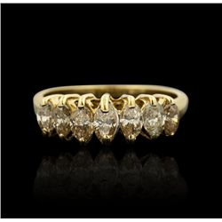 14KT Yellow Gold 0.50ctw Diamond Ring GB1264
