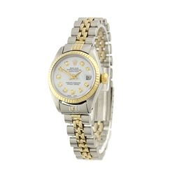Lady Rolex Two-Tone DateJust Wristwatch A4611