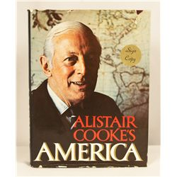 """Autographed Copy of """"Alistair Cooke's America"""" BK133"""
