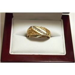 Dead Pawn Non-Native 10k Gold Women's Ring - B - O2