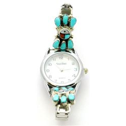 Zuni Multi-Stone Sun Design Women's Watch - E.A.