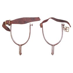 A PAIR OF U.S. CAVALRY SPURS
