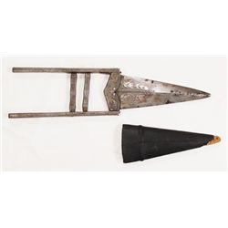 AN INDIAN SCISSOR KATAR DAGGER