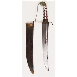 AN ANGLO-INDIAN HUNTING DAGGER
