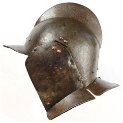 A NORTHERN EUROPEAN BURGONET HELMET