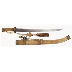 A CHINESE QING DYNASTY OFFICER'S YAODAO SABER