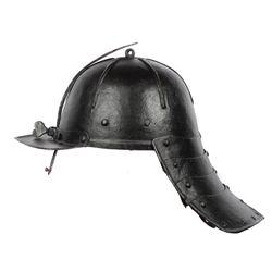 A GERMAN LOBSTERTAIL HELMET