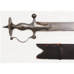 AN INDIAN TULWAR SWORD