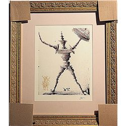 Salvador Dali - Don Quixote-Spinning Man - Limited Edition P3054