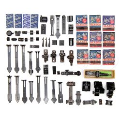 LARGE LOT OF MISCELLANEOUS MARLIN & OTHER FIREARMS PARTS & SIGHTS.