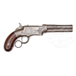 VERY RARE SMITH & WESSON NO. 1 LEVER ACTION PISTOL.