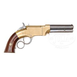 SCARCE FIRST DAY PRODUCTION NEW HAVEN ARMS VOLCANIC NO. 1 LEVER ACTION PISTOL.