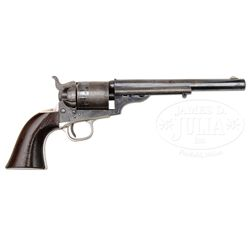 SCARCE COLT MODEL 1871-1872 OPEN TOP SINGLE ACTION REVOLVER.