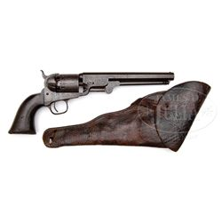 RARE NEW SOUTH WALES POLICE COLT MODEL 1851 NAVY REVOLVER.