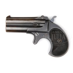 *VERY RARE MARTIALLY MARKED REMINGTON TYPE III DOUBLE DERRINGER.