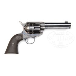 SUPERB BLACK POWDER FRAME COLT SINGLE ACTION ARMY REVOLVER.
