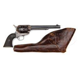 COLT FRONTIER SIX SHOOTER SINGLE ACTION ARMY REVOLVER.