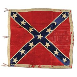 ANV BATTLE FLAG OF THE 9TH VIRGINIA CAVALRY.