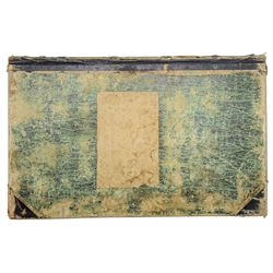 EXCEPTIONALLY RARE AND HISTORIC LETTER BOOK FROM CUSTERíS 7TH CAVALRY.