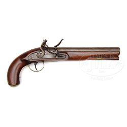 H. YOUNG AND COMPANY (NEW YORK) FLINTLOCK MILITIA PISTOL.