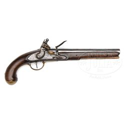 SIMEON NORTH 1808 NAVY FLINTLOCK PISTOL.