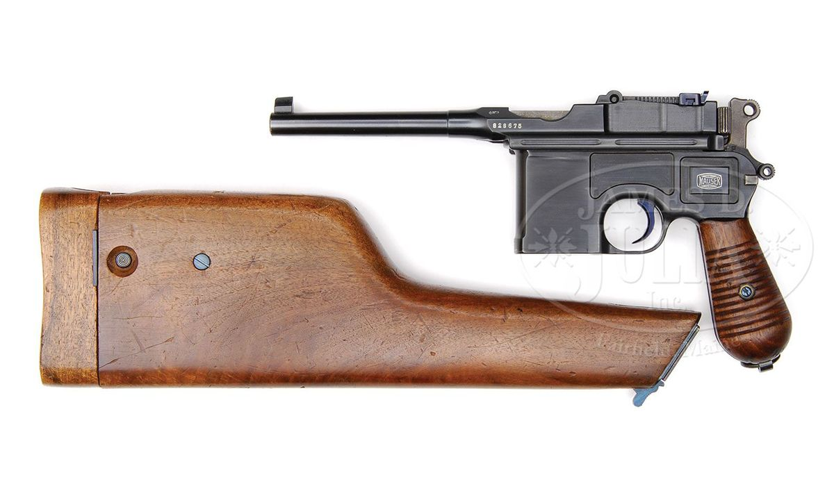 mauser c96 model 1930 commercial with mauser banner stock