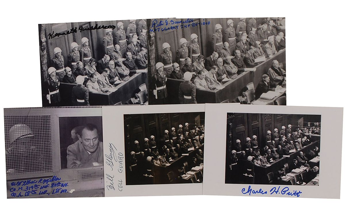 account of the nuremberg trial Raeder was sentenced to life in prison at the nuremberg trials but was released from spandau prison  museum uncovers remarkable account of the fray bentos boys.