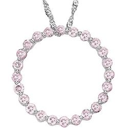 2/3 Ct. Pink diamond Pendant