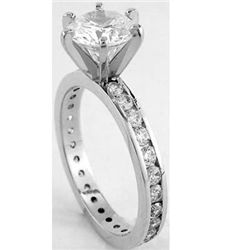 1.65 ctw Diamond ring SI2 - G; EGL