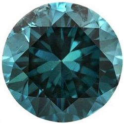 3.00 ct Genuine Blue Diamond - SI1