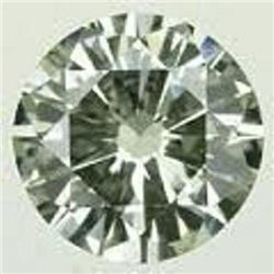 0.67 ct Green Diamond -SI - No treatment