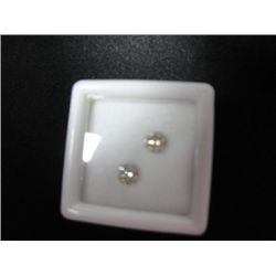 0.89 ct Diamonds Pair - SI2/I - FOR ear studs