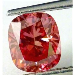 1.34 CT Fancy Deep Pink Diamond VS1- GIA  Appraisal