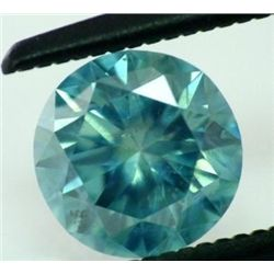 0.67 ct Greenish Blue Si1 ---IGL Appraisal