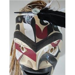 Northwest Coast Native Makah WARRIOR Mask