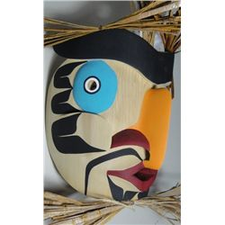 Northwest Coast Native Art Grouse Mask