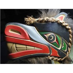 West Coast Native Wolf Mask