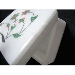 Jewellery box - Hand made with inlaid art work