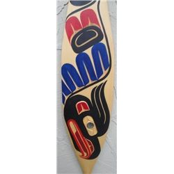 North West Coast native Thunderbird Dance Paddle