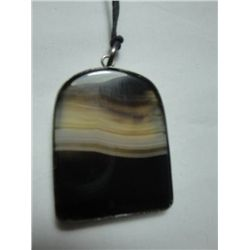 Natural Tiger Stone Pendant