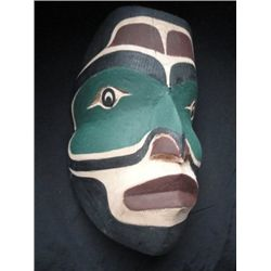 West Coast Native ancestor mask