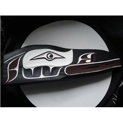 West Coast Native Raven mask