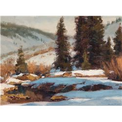 Utah Snow Shadows by Kapp, Gary