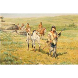 Track of the Wounded Buffalo by Hagel, Frank