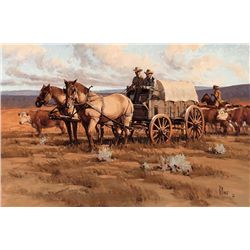Cattle Drive by Fellows, Fred