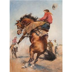 Bustin' the Bronc by Fried, Pal