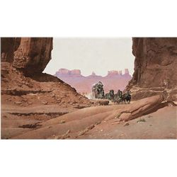 Through the Canyon by McGinnis, Robert