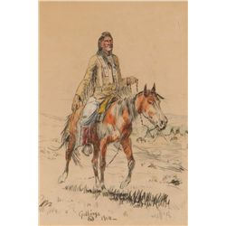 Crow Injun by Gollings, William