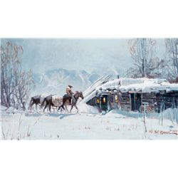 Coming Home for Winter by Warren, Melvin